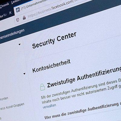 Zwei-Faktor-Authentifizierung für Facebook Business Manager: künftig nicht nur für Admins Pflicht
